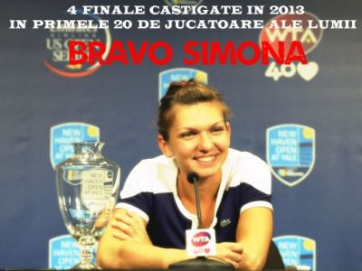 "Simona Halep, in al 9-lea cer dupa victoria de la New Haven: ""Este incredibil pentru mine!"" Trimite-i un mesaj campioanei!"