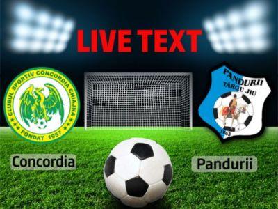 SOC la Chianja: Concordia 1-5 Pandurii! Eric a fost cel mai bun de pe teren! Chiajna a marcat din greseala! Sa VINA Braga!