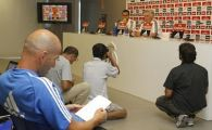 Toata lumea se intreaba ce facea Zidane in timpul conferintei de presa pe care Ancelotti a sustinut-o inainte de meciul cu Granada: