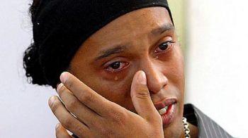 """Zeul fotbalului, in pragul unei crize de plans: """"Adio, prietene, ramai cu bine!"""" Stirea care l-a emotionat pana la lacrimi pe Ronaldinho:"""