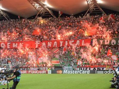 I-au 'IERTAT'? Ultrasii Legiei au afisat o super coregrafie la misto pentru UEFA! Cum arata cel mai tare mesaj pentru sefii fotbalului!
