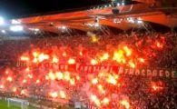 Coregrafie BESTIALA a fanilor Legiei impotriva UEFA face inconjurul lumii! Cum au raspuns suspendarii peluzei:VIDEO