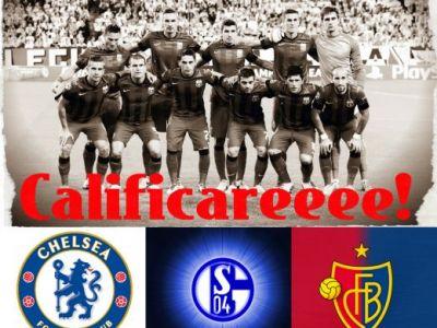Steaua e in grupa E cu Chelsea, Schalke si Basel! Real - Juve - Galata, grupa mortii in CL! Primul meci cu Schalke! Vezi programul: