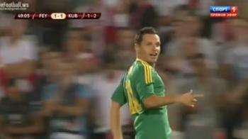 """VIDEO Gol SENZATIONAL Bucur! A lovit decisiv pentru Kuban iar Dorinel il propune la nationala"""" """"Merita convocarea!"""""""