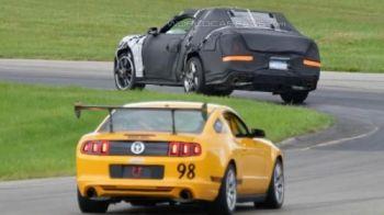 FOTO Asa va arata noul Ford Mustang! Americanii invadeaza Europa! Cu ce modificari vine generatia 6: