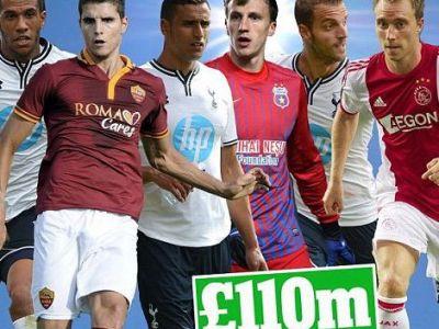 """Tottenham cheltuie 130 de milioane pe transferuri! Villas Boas: """"Chiriches e un lider innascut, aveam nevoie de el!"""""""
