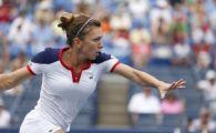 Simona Halep - Flavia Pennetta: 2-6, 6-7(3) in optimile US Open! Meciul a fost intrerupt 4 ore si jumatate din cauza ploii!