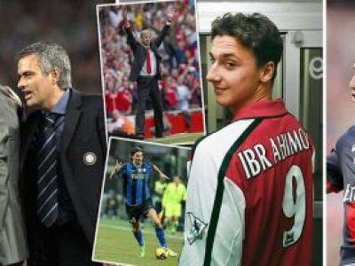 """Zlatan, despre dragostea fara margini pe care i-o poarta lui Mourinho: """"Eram in stare SA MOR pentru el"""" Ce zice de Guardiola:"""