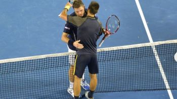 ACUM Prima semifinala de la US Open! Djokovic incearca sa se mentina pe primul loc in lume! Djokovic - Wawrinka 2-6; 7-6; 3-6; 6-3; 3-2