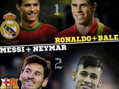 Ronaldo si Bale versus Messi si Neymar! Primii sunt mai batrani, ceilalti mult mai buni! Prima comparatie DIRECTA intre cele doua cupluri explozive: