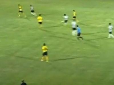 Golul saptamanii s-a dat in Iran! A inchis ochii si a tras cat a putut si mingea s-a dus la vinclu! Vezi TORPILA de la 35 de metri: VIDEO