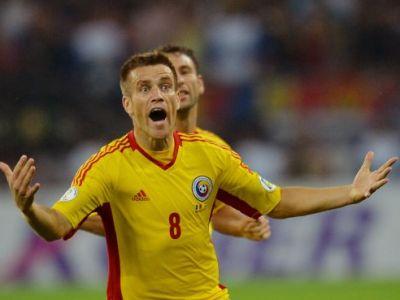 GESTUL lui Pintilii! A marcat un SUPER gol in fata Ungariei, apoi s-a dus direct la fanii maghiari! Cum a ras de ei FOTO: