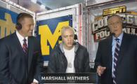 """VIDEO Eminem vs comentatori de fotbal: """"Vrei sa luam o pauza?"""" Momente STANJENITOARE in direct!"""