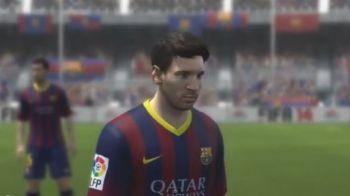 Asa ceva nu s-a mai vazut NICIODATA! Messi si Ronaldo nu-si dau seama daca e vis sau realitate! Cum arata in FIFA 14