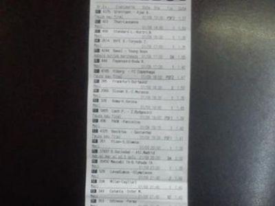 Un PARIOR din Romania a pus 3 lei pe 21 de meciuri si a castigat O AVERE! Se poate lasa de serviciu un an :) FOTO