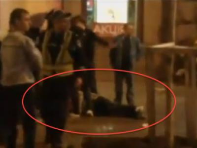 SOCANT! Huliganii au atacat in centrul orasului, un fan a fost MACELARIT! Imagini incredibile inainte de meci