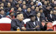 """Dennis Rodman declanseaza ISTERIA in Coreea de Nord! """"Prietenul"""" Kim Jong-un l-a convins sa antreneze nationala de baschet pentru Jocurile Olimpice:"""