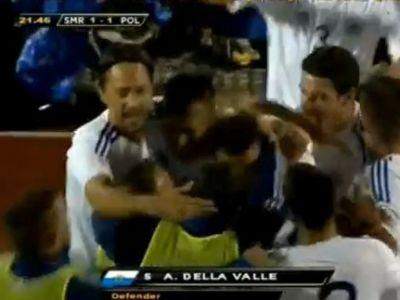 San Marino a inscris primul gol dupa o pauza de 5 ani! Reactia DEMENTA a jucatorilor :)) VIDEO