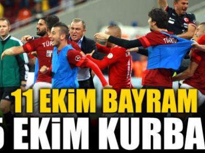 """""""Pe 11 octombrie dam BAYRAM, pe 15 taiem portocalele!"""" Turcii sunt iar cuceritorii Europei! De ce le este frica de romani in ultimele 2 meciuri:"""
