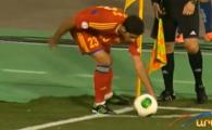 Cum faci HENT cand bati un corner? :)) Armeanul Ozbiliz a reusit o executie unica de la coltul terenului! VIDEO GENIAL