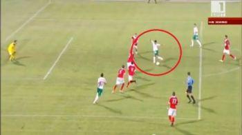 Ar fi fost cel mai tare gol al anului! Un bulgar a vrut sa fie Ronaldinho pentru o noapte! Sutul DIN RABONA cu care a fost aproape sa inscrie: