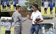 O imagine de 200.000.000 de euro! Bale l-a primit pe Cristiano Ronaldo la baza de la Valdebeba FOTO