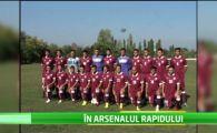 """Un jucator crescut de Arsenal a ajuns la Rapid: """"Am auzit de Mutu si de Kishes!"""" :) Ce lovitura pregatesc giulestenii:"""