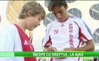 """URMASUL lui Reghe invata meserie la Ajax: """"Sper ca va veni momentul in care sa antrenez Steaua!"""""""