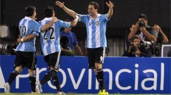 Messi, Higuain si Aguero vin la Bucuresti! Cand a fost progranat meciul PIERDUT cu Argentina de pe National Arena!