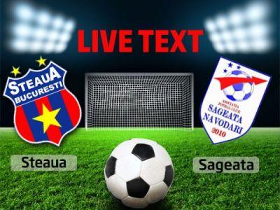 Steaua 5-0 Sageata Navodari! Piovaccari, Prepelita, Cristea si Kapetanos au facut show in Ghencea!