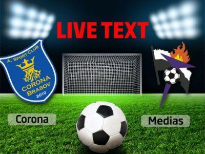 Corona 1-2 Gaz Metan! Gazul obtine prima victorie in acest sezon, Corona ramane ultima in Liga 1! Vezi fazele: