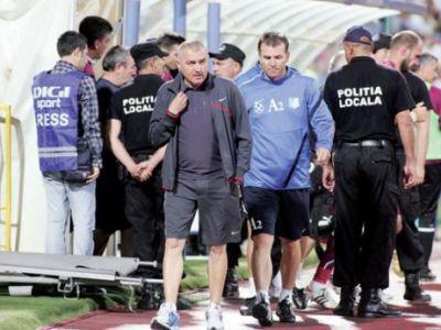 "CUTREMUR la CFR! Grigoras e gata sa plece in orice moment: ""Jucatorii au fost penibili, e o rusine!"" Declaratie incredibila dupa meci"