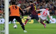 """Rusescu a TURBAT in tribune! Barca, salvata de arbitru cu Sevilla! Doua decizii inexplicabile au dus-o peste Real in Spania: """"A fost un JAF!"""" VIDEO"""