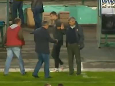 VIDEO: Gest URAT facut de Mircea Lucescu: nu a suportat ultima infrangere si l-a umilit pe antrenorul rival la finalul meciului!