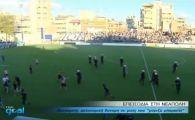 Nici in filmele cu HULIGANI nu vezi asa ceva! Ultrasii unei echipe din Liga Campionilor au comis-o grav: au NAVALIT pe stadion la un meci al rivalilor! VIDEO: