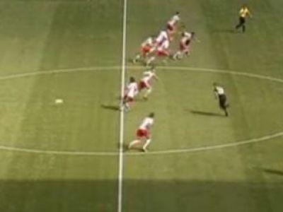 GENIAL! Cea mai tare SCHEMA din fotbal! Cum sa dai gol fara ca adversarul sa aiba REACTIE! VIDEO