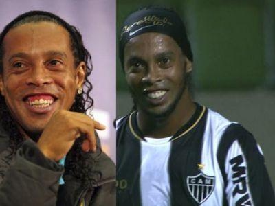 """ADIO, """"DINTOSUL!"""" Ronaldinho si-a cumparat ZAMBET nou! Transformarea radicala a brazilianului! VIDEO:"""