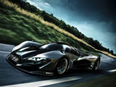 Masina pe care toti fanii MERCEDES vor sa o vada! Motor de 5,6 litri pe conceptul Nissan GTR! Cum ariata BESTIA NERA: