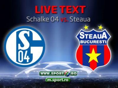 Nascuti sa UCHIDA! Ne-am batut singuri, Steaua n-a mai existat dupa eroarea incredibila facuta de Tatarusanu si Szukala: Schalke 3-0 Steaua! VIDEO