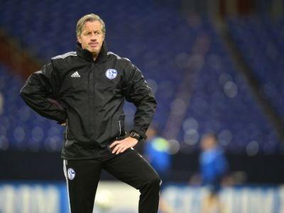 """Antrenorul lui Schalke, fericit la final: """"Am avut un gol norocos, dar uneori e nevoie de asa ceva!"""" Ce a declarat:"""