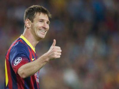 Inca 10 si e GENIU! Messi a marcat din toate pozitiile cu Ajax, recordul all-time din Liga a inceput sa TREMURE! VIDEO