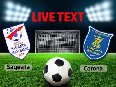 3 puncte muncite si un meci plictisitor! Sageata Navodari 1-0 Corona Brasov! Mera a adus victoria pe final!