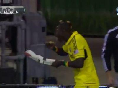 Daca facea asta la Steaua, era CONCEDIAT in timpul meciului! Ce gest a facut un jucator dupa ce a marcat