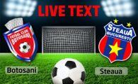 Steaua, in premiera pe primul loc in acest sezon! FC Botosani 1-2 Steaua! Szukala si Piovaccari au adus victoria campionilor!