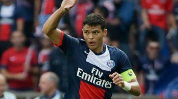 "Lovitura GREA pentru milionarii de la PSG! Capitanul Thiago Silva s-a ""rupt"" in meciul cu AS Monaco! Cat va sta pe bara:"
