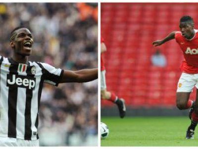 """Transferul cu care Juve o INGENUNCHEAZA pe Manchester United! Precedentul POGBA se poate repeta; italienii vor sa """"fure"""" un fotbalist MINUNE!"""