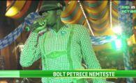 Cel mai rapid om de pe planeta, Bolt, a dat mai multe beri pe gat si s-a dat in spectacol la Oktoberfest! VIDEO