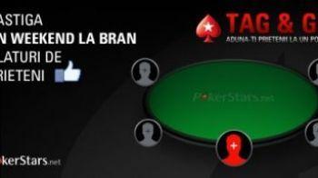 Super CONCURS Tag&Go! Castigi un weekend la Bran, sa joci la cea mai tare masa de poker! E foarte simplu ce trebuie sa faci: