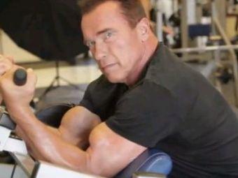 IMPECABIL! Arnold isi incordeaza muschii la 66 de ani! Revenire de senzatie pentru Terminator! VIDEO: