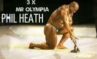 LACRIMI pe scena de la Mister Olympia! Phillip Heath a castigat al treilea an la rand insa nu s-a putut bucura! Anuntul care a incremenit sala